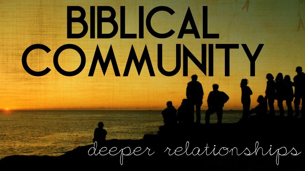 Biblical Community 5 pillars