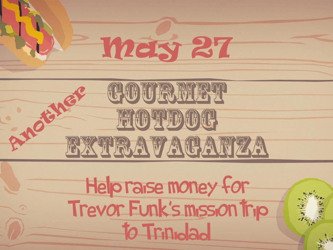 Hotdog Fundraiser 2