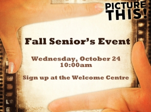 Fall Senior's Event