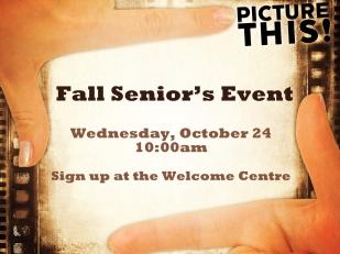 Fall Senior's Event